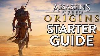 ASSASSINS CREED ORIGINS: Assassin STARTER Guide! (10 Tips for a Head Start in Origins)