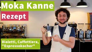Moka-Kanne Rezept - So schmeckt uns die Caffettiera am besten!