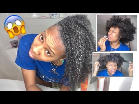 i WASHED my HAIR for the FIRST time in 5 Months! (vlogmas day 8)