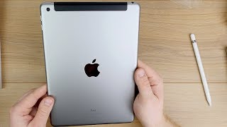 iPad 2018 (WIFI + Cellular) inkl. Apple Pencil // Unboxing & Erster Eindruck // DEUTSCH