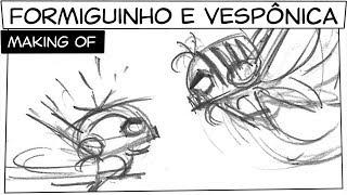 Mônica Toy - Making of    Formiguinho e Vespônica