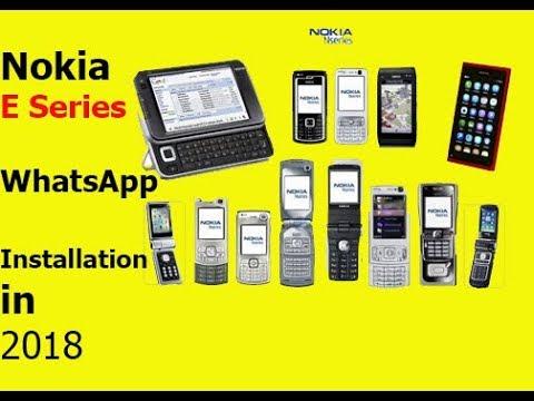 WhatsApp On Symbian? Fix 2018 (Nokia E72) - игровое видео