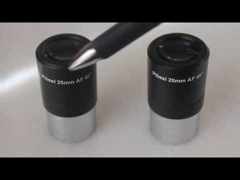 Telescope eyepiece filter thread. Not all are the same