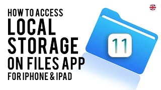 How to use Files app to save files locally on your iPhone & iPad