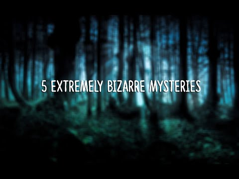 5 EXTREMELY Bizarre Mysteries