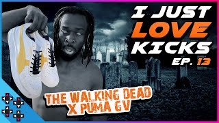 A FIRST LOOK at THE WALKING DEAD sneakers! - I Just Love Kicks #13
