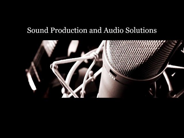 Audio and sound design solutions for event promotion and web-based marketing Music for TV, film, video & computer games