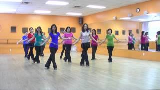 Banca Cha - Line Dance (Dance & Teach in English & 中文)