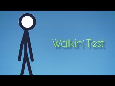 Simple Walking Test | Stick Nodes
