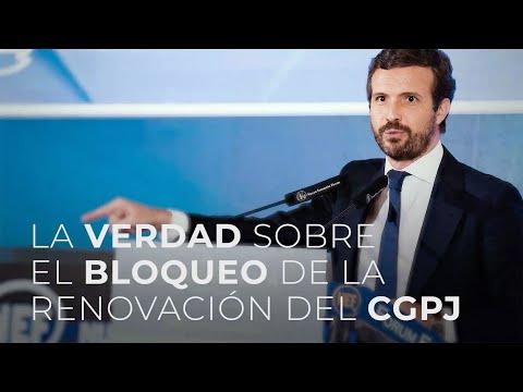 La verdad sobre el bloqueo de la renovación del CGPJ