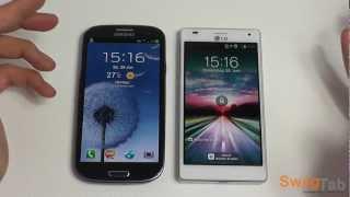 Samsung Galaxy S3 vs LG Optimus 4X HD | SwagTab