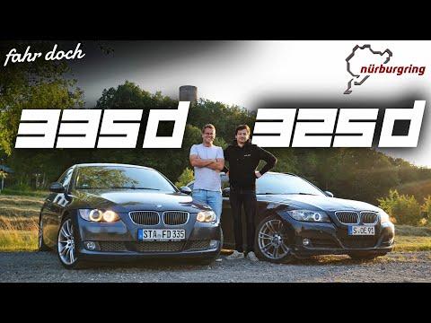 DUELL: BMW E92 335d vs E91 325d Touring | UNTER 10.000€ Autos auf dem Nürburgring | Fahr doch