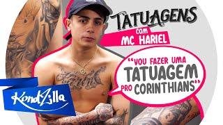 """Tatuagens com MC Hariel:  """"Vou fazer uma tatuagem pro Corinthians"""""""