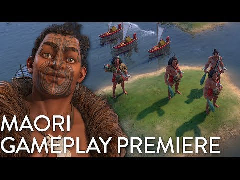 Civilization VI: Gathering Storm - Maori Gameplay Premiere (Dev Livestream) thumbnail
