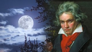 "Beethoven ""Moonlight Sonata"" Piano Sonata No. 14 (2 HOURS) - Classical Music Piano for Studying HD"