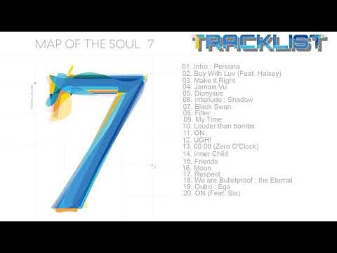 [FULL TRACKLIST/ALBUM] BTS (방탄소년단) MAP OF THE SOUL : 7