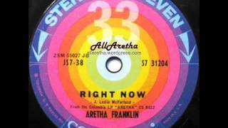 Aretha Franklin - Who Needs You? / Right Now - 7″ 33 RPM - 1961