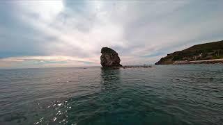 Volando con i gabbiani - Flying with the seagulls FPV