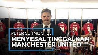 Pemain Legenda Peter Schmeichel Menyesal Tinggalkan Manchester United setelah Treble