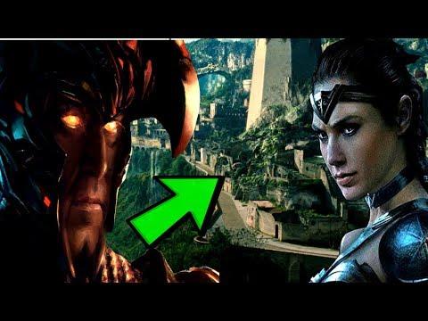 Steppenwolf Set To Destroy Themyscira? - Justice League Trailer