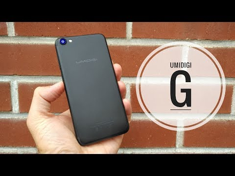 UMIDIGI G Smartphone REVIEW – The $80 Android iPhone 7?!