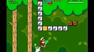 Forest of Illusion 1 (secret exit) - 267 (Fire Mario, Get Yoshi)