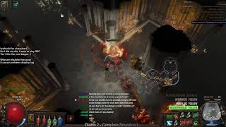 Path of Exile 3.3 SSFHC - Blade Vortex Day 1 Progress + Tips