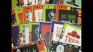 20 QUICK, CUTE & EASY HALLOWEEN CARDS