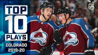 Top 10 Avalanche Plays Of 2019-20 ... Thus Far | NHL