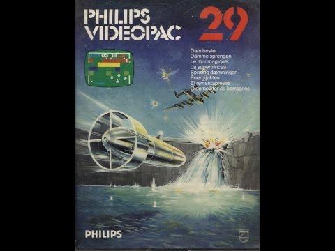 Nr. 29: Dämme sprengen   Philips Spielekonsolen   G7000 / G7400 / Videopac / Videopac+