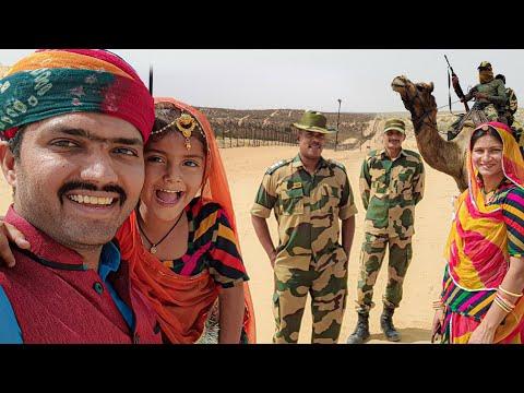 Indo Pak International Border 🚩 Last border post   Camel Petroling   Tour Vlog   Bikaner Rajasthan