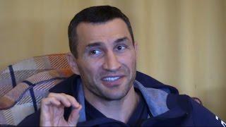 Wladimir Klitschko Interview -