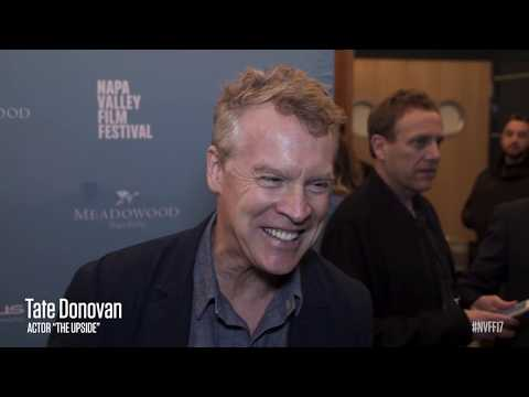 Tate Donovan on the Red Carpet | The Upside | NVFF17