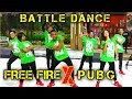 BATTLE DANCE FREE FIRE X PUBG JUST FOR FUN CHOREOGRAPHY BY DIEGO TAKUPAZ