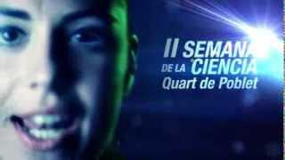 preview picture of video 'II SEMANA DE LA CIENCIA de Quart de Poblet'