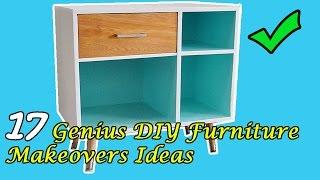 17 DIY Furniture Makeovers Ideas