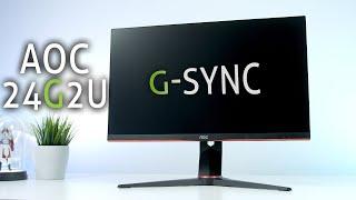 Der NEUE BESTE 200€ Monitor | AOC 24G2U G Sync Compatible 144Hz im Test + Bildeinstellungen!