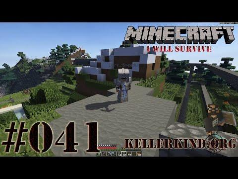 Minecraft: I will survive #041 - Planung des 2. Tors ★ EmKa plays Minecraft [HD|60FPS]