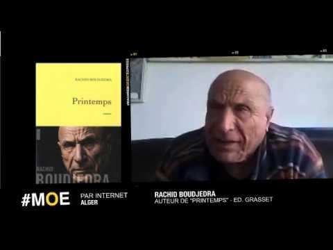 Vidéo de Rachid Boudjedra