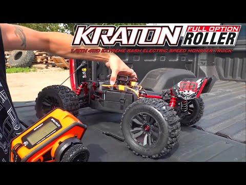 "ARRMA KRATON EXB 2020 ""FULL OPTION"" STUNT TRUCK: ULTIMATE BASH VIDEO - JUST SEND IT! | RC ADVENTURES"