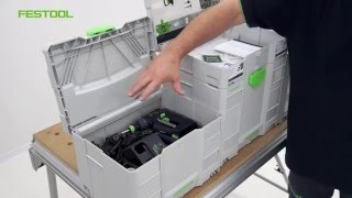 Festool TV Folge 70: SORTAINER und SYSTAINER SYS-Combi