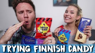 TRYING FINNISH CANDY (Part 300,000)