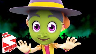 Knock Knock Who's There | Scary Nursery Rhymes | Halloween Songs For Kids