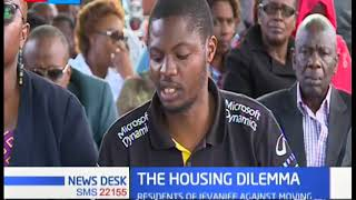 Residents of Jeevanjee Estate protest impending forceful eviction