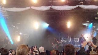 "Dreadful Shadows  - ""Chains"" & ""Burning the shrouds""   Amphi Festival 2011  Köln ""Tanzbrunnen"""