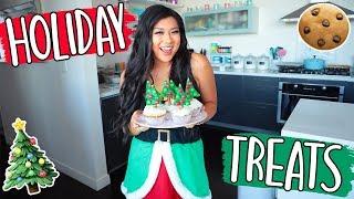DIY HOLIDAY TREATS!! Cute + Easy Holiday Gifts!