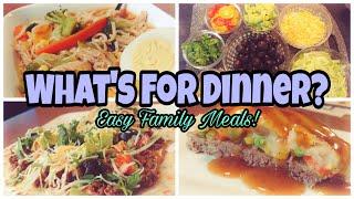 What's For Dinner?   Real Life Dinner Ideas   Easy Dinner Recipes