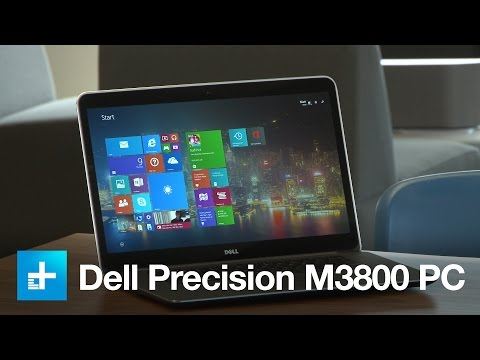 Dell Precision M3800 Laptop Hands-on review