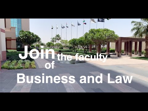 Faculty of Business & Law