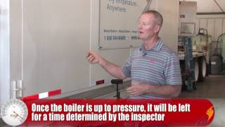 Hydro Testing a Steam Boiler — The Boiling Point